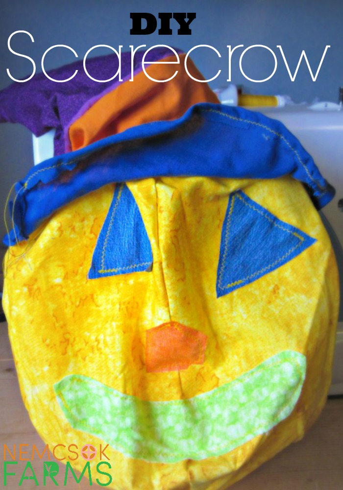 DIY Scarecrow from start to finish - complete with the flippy floppy hat and some of the Best DIY Craft Projects
