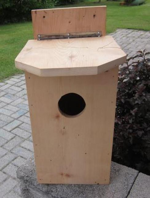 Handmade from locally harvested, locally milled lumber Build It: Owl Houses are the perfect natural pest control system for your property.
