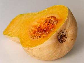 Homegrown butternut squash is perfect for DIY puree.