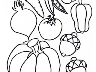 Horn of Plenty Cornucopia Craft for Kids ( and adults!) for Thanksgiving. With printable template ready to colour, cut and paste!