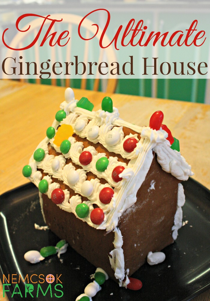 The Ultimage Gingerbread House Holiday Recipe with several little tips you will kick yourself for not thinking about before! Make this Christmas decoration last and make your dreams of a happy family activity come to life. Enjoy a sweet Christmas treat once you take all the pictures to prove this amazing gingerbread house actually existed.