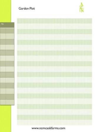 Printable Garden Plot Layout post thumbnail image