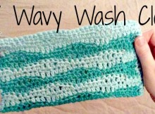 DIY crochet pattern for hand made wash clothes