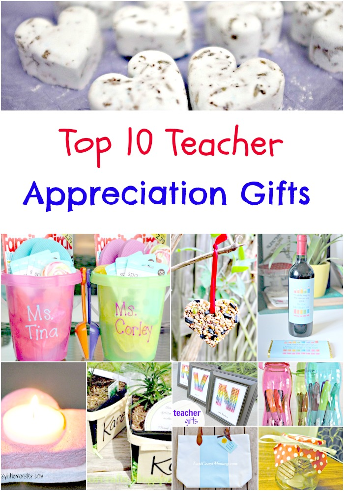 Thoughtful and Beautiful DIY Appreciation Gifts for Teachers