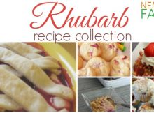 Rhubarb Recipe Collection