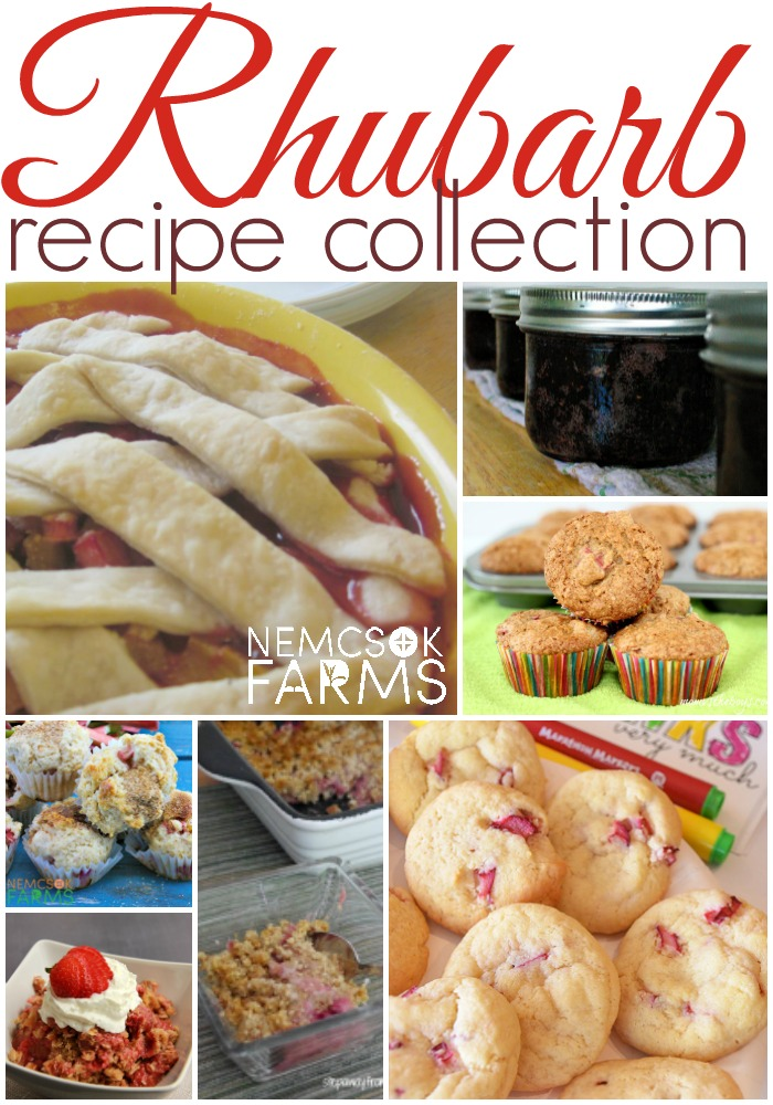 Rhubarb Recipe Collection - Cookies, Muffins, Pies, Jams and more