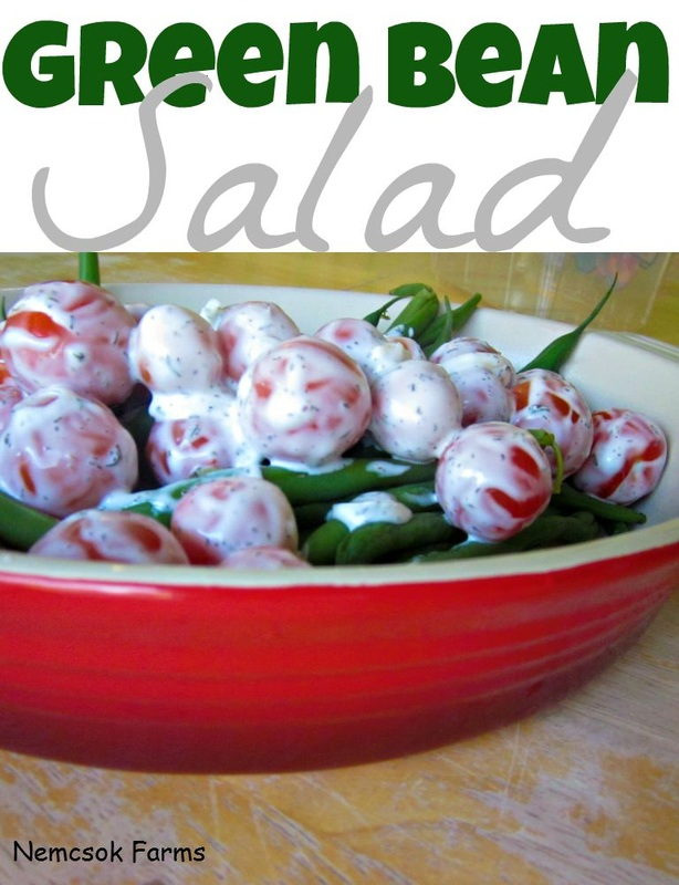 Fresh from the Garden Green Bean Salad Recipe