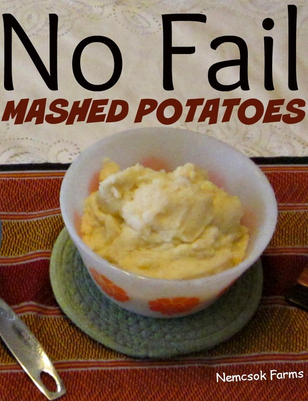 No lumps, no bumps, no fail mashed potatoes.