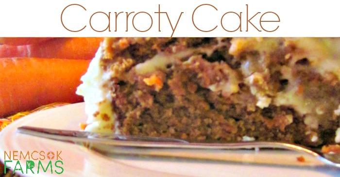 Carroty Carrot Cake post thumbnail image