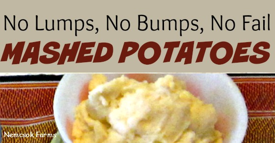 Seems easy, right? Mashed potatoes? Cook, mash, eat? Read on my friends, read on.