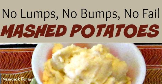 No Fail Mashed Potatoes post thumbnail image