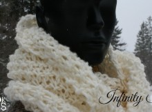 how to make an infinity scarf a knitting pattern and tutorial