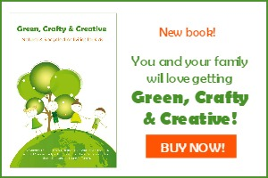 Green Crafty & Creative ebook, Kindle and Paperback