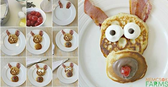 Rudolph the Reindeer Pancakes Bask in the Spirit of Christmas and Whip up Some Festive Charm