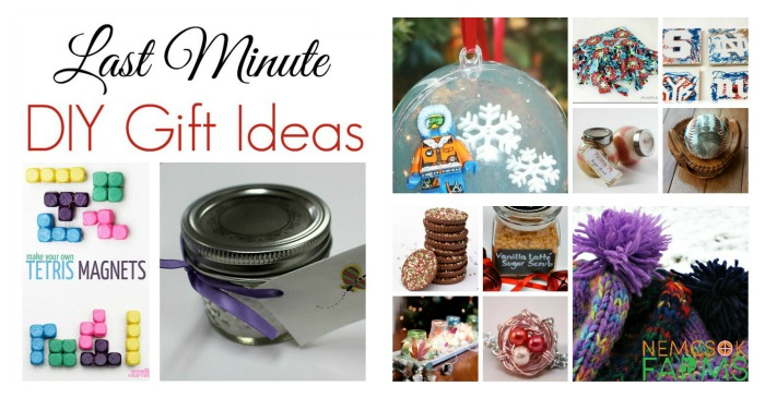 Super quick to make, great gift ideas for everyone on your list