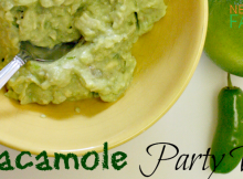 Guacamole Party Dip Recipe Perfect for Entertaining and Healthy Snacking