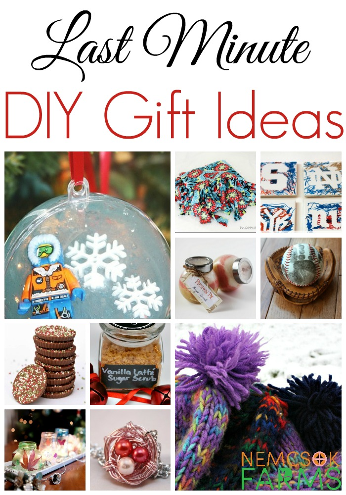Last Minute DIY Gift Ideas for Everyone on Your List
