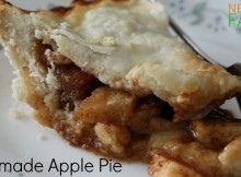 Homemade Apple Pie Recipe perfect any of time of year, super simple to make for every day dessert, and delightful enough to serve on special occassions