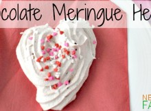 Melt in your mouth Chocolate Meringue Hearts for your Sweetest Valentine