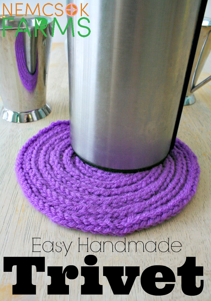 Easy Handmade Trivets Make the Perfect Kitchen Accessories to DIY