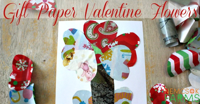 Gift Wrap Valentine Flowers post thumbnail image