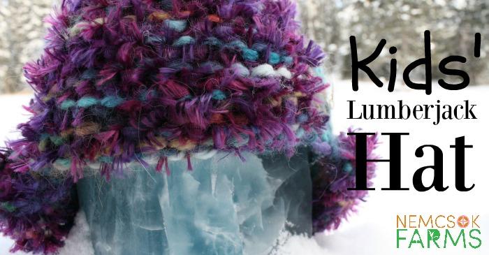Handknit Awesome Kids' Lumberjack Hats