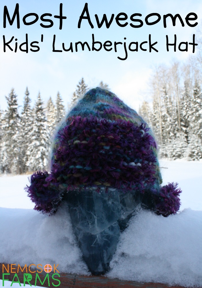 Handknit Awesome Kids' Lumberjack Hats