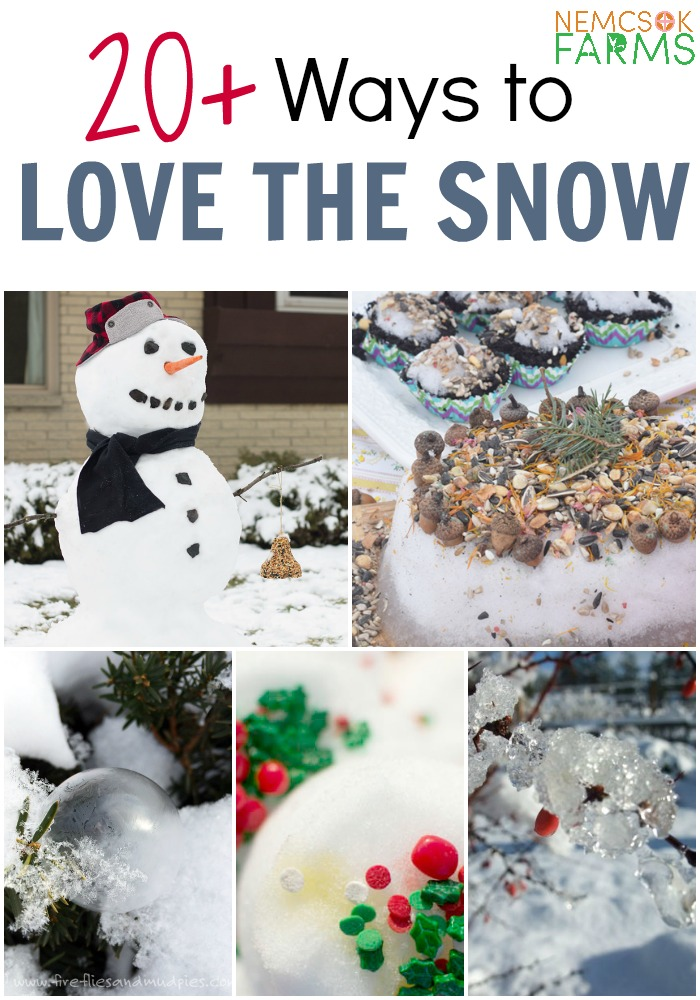 Over 20 activities and ideas for super fun ways to enjoy the snow