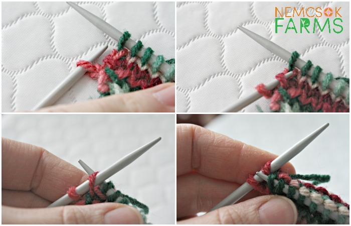 Quick Knit Hand Knit Hearts for Valentine's Day - or any other day you want to share the love