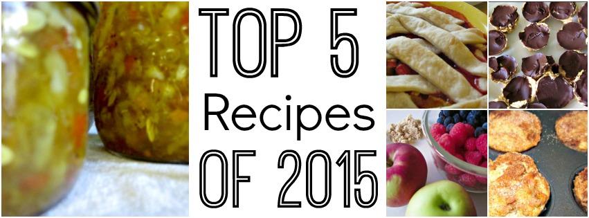 Top 5 Recipes of 2015 post thumbnail image