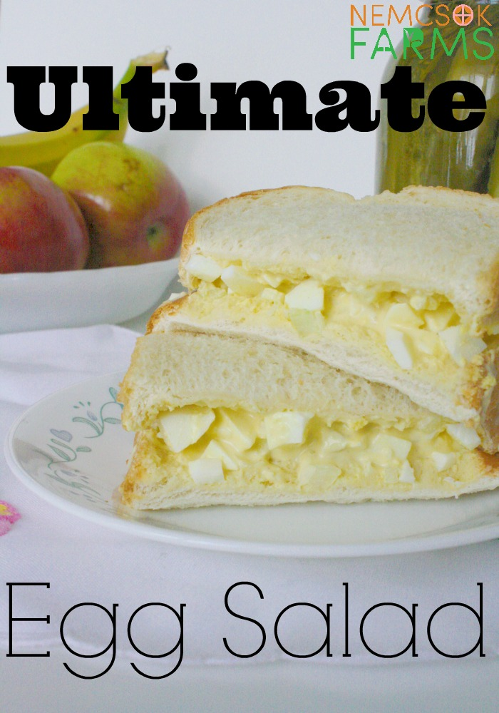 the Ultimage Egg Salad Sandwich