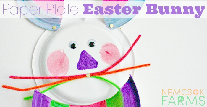 Paper Plate Easter Bunny post thumbnail image