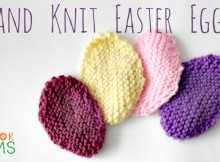DIY Free Knitting Pattern for Hand Knit Egg Pattern for Easter