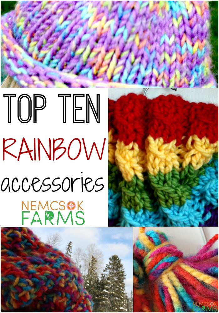 Top ten DIY Rainbow Accessories