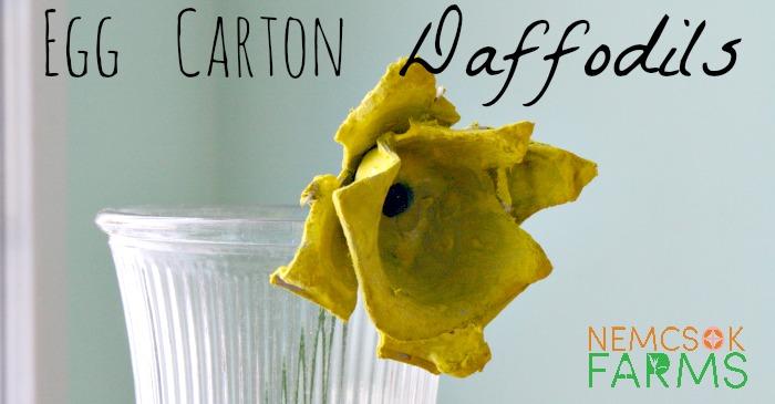 Egg Carton Daffodils post thumbnail image