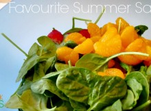 Summer Salad Recipe that is easy to make, and I mean really easy to make. It also happens to be quite tasty.