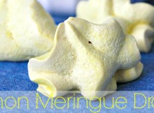 Light and Lemony Melt in Your Mouth Lemon Meringue Drop Recipe