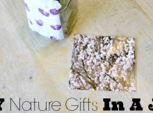 DIY Nature Gifts in A Jar - the perfect Mohter's Day, Father's Day, Teacher's Appreciation Day, or Any Occasion Gift Made with Upcycled Materials and Things Found in Nature