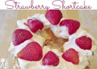 Homemade Strawberry Shortcake a showstopper dessert that is really really easy to make, but has a huge wow factor!