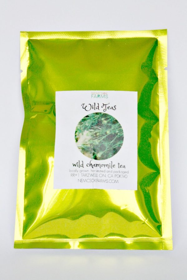 Nemcsok Farms Wild Teas Wild Chamomile Tea Leaves Grown, Harvested and Packaged on the Farm