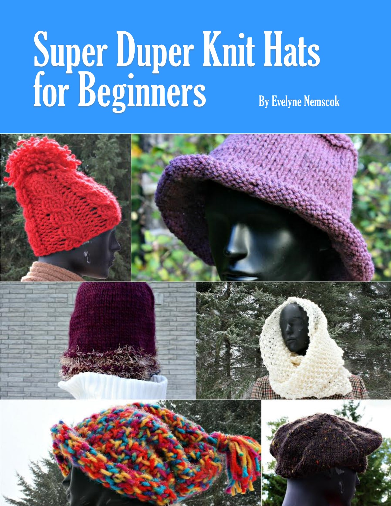Super Duper Knit Hats for Beginners border=