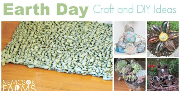 Rock Earth Day with these awesome ideas for crafts and DIYs. Upcycle something fabulous, create something stunning and Do It Yourself proud.