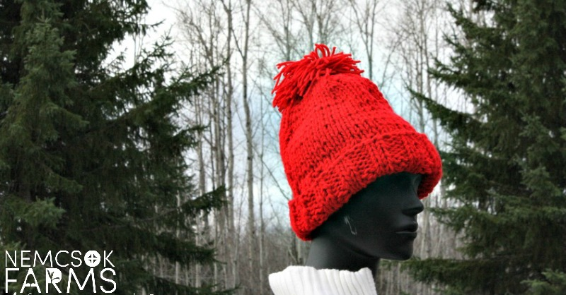 Quick & Classic Pom Pom Hat Knitting Pattern post thumbnail image
