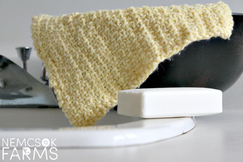 Linen Stitch Spa Cloth Knitting Pattern post thumbnail image