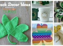 Here are 14 Lucky Shamrock DIY Decor Ideas, that are easy on time, light on the budget, and heavy on the green!