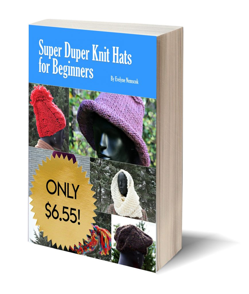 Super Duper Knit Hats for Beginners - a knitting pattern book ideal for new and experienced knitters alike