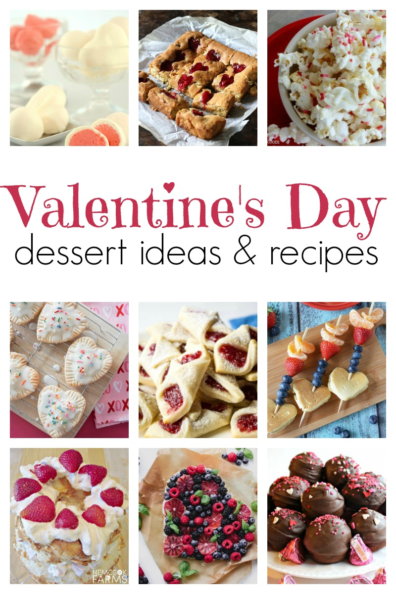 Valentine Dessert Ideas and Recipes for all the loves in your life