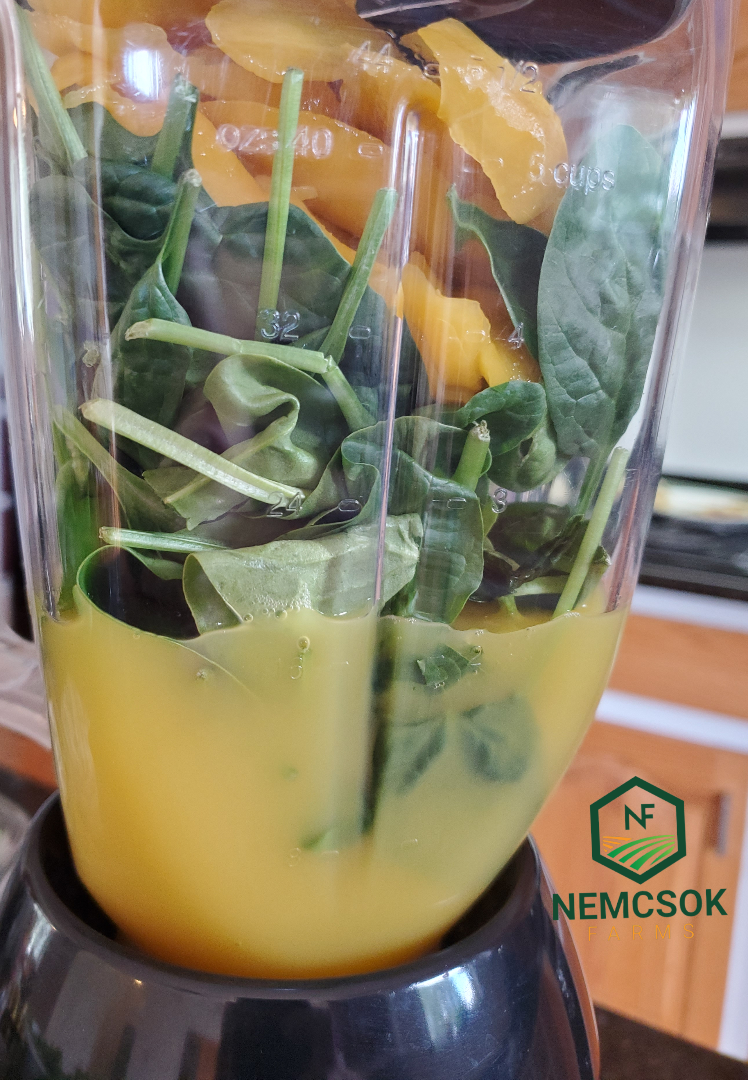 Creamsicle Smoothy Recipe made with fresh spinach that tastes like a creamsicle , but is loaded with healthy goodness