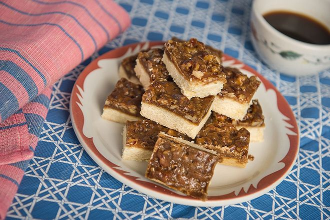 Traditional Birch Pecan Squares