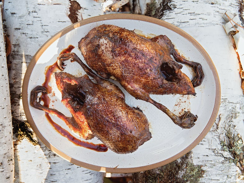Birch & Soy Roasted Duck